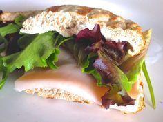 RECETA FITNESS/ Sandwich sin hidratos