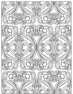 Art Nouveau Patterns Dover Publications