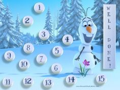 {free} printable Frozen Behavior Charts