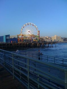 Santa Monica Pier in California.  The movie Big was filmed here.