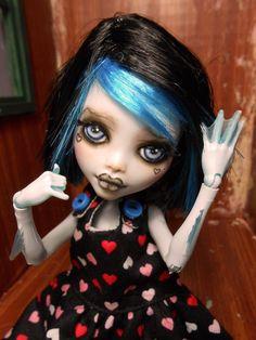 1 6 OOAK Posable Art Doll Custom Monster High Star by Mmdollz | eBay