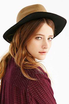 Colorblock Panama Hat