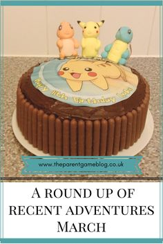 Recent adventures, including a pokemon birthday, War Horse at The Bristol Hippodrome and a party in a tiny cinema!