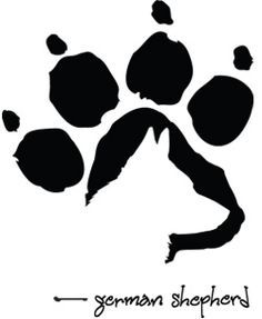 bulldog paw print outline - Google Search