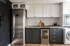 cozinha co armários retrô