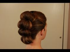 Easy Topsy Tail Bun Fawk Hawk! - YouTube