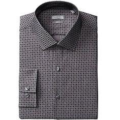 Men's Slim-Fit Smokey Grey Dress Shirt Size 16 (32-33) ,K... https://www.amazon.com/dp/B01FGCUILW/ref=cm_sw_r_pi_dp_GeGExb8CTKMMV