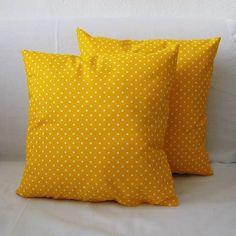 Žlté obliečky bodkované
