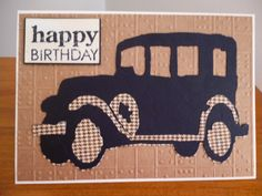 My card using Tim Holtz old jalopy.