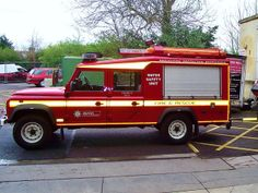 WrSU 12 Bravo 1 Land Rover Defender 130 Td5 Angloco WX56 TLN 2006 F/69/06 by british fire rescue pics, via Flickr