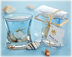 Seashell Beach Candle Favor