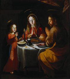 The Holy Family Painting by Josefa de Óbidos 1670 http://ift.tt/2m7wgp9