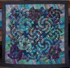 tumbleweeds from Judy Neimeyer quilt, by Ruth Mendel