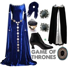 """""""Game of Thrones"""" by wearwhatyouwatch on Polyvore....i love the dress (but would want it in black) and the belt! so cool"""