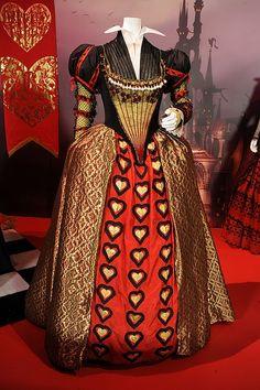 Peluca de la Reina roja. | Alicia en el País de las ...