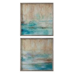 Uttermost Through The Mist Abstract Wall Art - Set of 2 - 51103