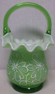 Gorgeous Fenton Antique Cased Glass Hand by BishopsAntiqueGlass, $95.00