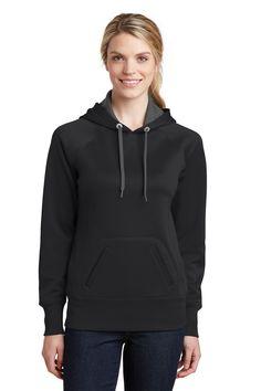 Sport-Tek Ladies Tech Fleece Hooded Sweatshirt