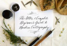 The Beginner's Guide to Modern Calligraphy   The Postman's Knock