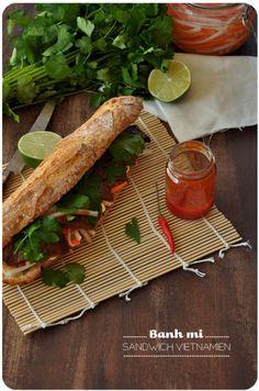 Banh mi - Sandwich vietnamien