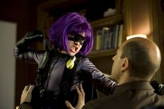 """How the 11-year-old Hit Girl from Kick Ass grew into the 16-year-old, more """"female-driven"""" character you see in the superhero movie's sequel."""