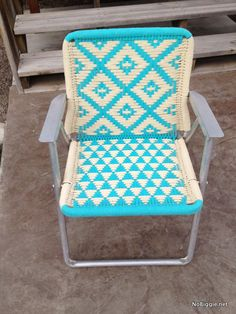 Thrift shop Thursday - your grandma's style Outdoor Chairs, Outdoor Furniture, Outdoor Decor, Thrift Shop Finds, Love Chair, Upcycled Furniture, Thrifting, Thursday, New Homes