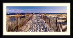 'Pathway to the Beach' by Joseph Sohm Framed Art Print