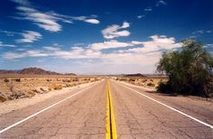 I dream of doing route 66