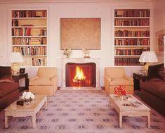 David Hicks — 19-mid-century living room