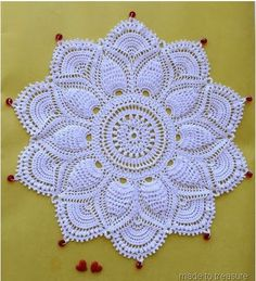 Patricia Kristoffersen's Ultimate Doily (Made to Treasure)