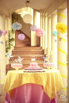 Pastel Candyland themed birthday party via Kara's Party Ideas Shop The Place for ALL THINGS PARTY! #candyland #firstbirthday #karaspartyideas
