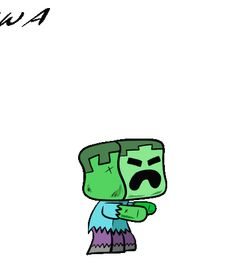 Learn how to draw a Minecraft Zombie in just a few simple steps. How To Make Drawing, Drawing Lessons, Learn To Draw, Easy Drawings, Make It Simple, Minecraft, Learn Drawing, Drawing Classes, Easy Designs To Draw