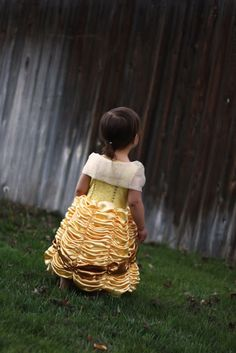 Belle Princess Dress - Costume Pattern and Tutorial - Homemade Toast