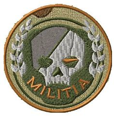 OML Patches - TitanFall Militia Full color, $6.50 (http://www.omlpatches.com/titanfall-militia-full-color/)