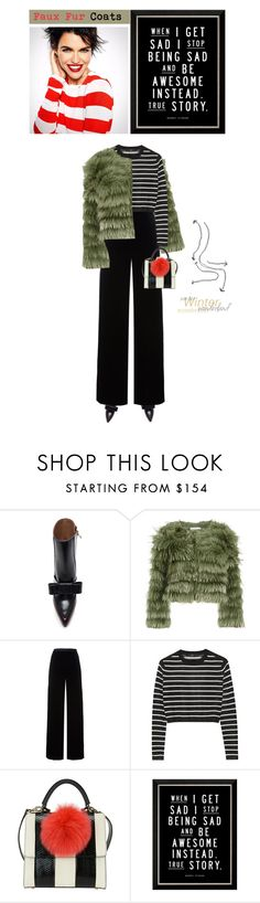 """""""Untitled #483"""" by ino-6283 ❤ liked on Polyvore featuring Marni, Alice + Olivia, T By Alexander Wang and TIBI"""