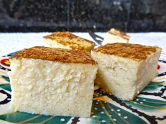 Favorite greek desert farina cake! I'm thinking about trying this over the weekend!