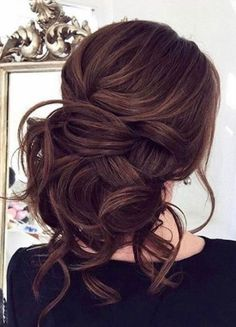 Featured Hairstyle: ELSTILE from http://www.elstile.com; Wedding hairstyle idea.