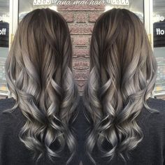 By @lana.mai.hair Metallic Silver Tag a friend that should try this!! ⠀ #silverhair #silver #hairsandstyles #silverbalayage #vancouver #asiangirl #vanity #silverombre #hothair #tophair #tophairstylist #beauty #beautiful #guytanginspire #behindthechair#stylistshopconnect #stylistsupportstylist #imallaboutdahair#inspration#followme#guytanghair #longhair #metallic#metallicsilver #kenracolour#metallicsilver #metallic #guytang #inspration #kenraprofessional#metallicobsession#inspirehairstyles