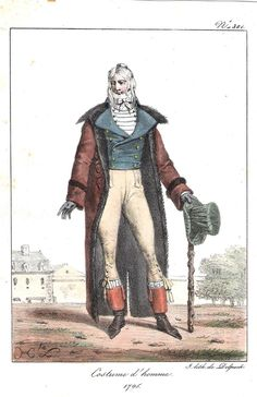 Costume Homme  1795