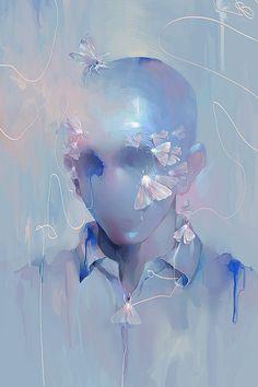 THE PORTRAIT EXHIBITION by Lai N. Nguyen, via Behance