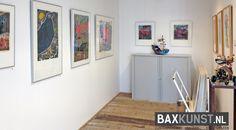 Staal- en steendrukken van Jan van der Meulen   Expositie 'Jan van der Meulen 80 jaar', Bax Kunst Sneek   #baxkunst #art #expo #artist #Sneek #Gallery #objects #paintings #graphicart