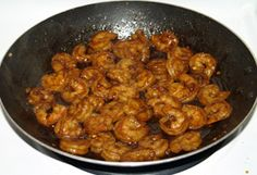 Spicy soy sauce shrimp
