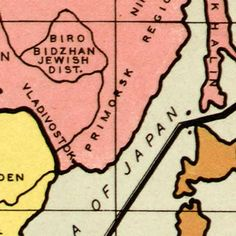 """Gomberg's Infamous """"New World Order"""" map (1942) image detail"""