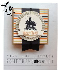 Give the littles something sweet. Check out two other cute gift boxes on this blog post, perfect for Halloween treats!