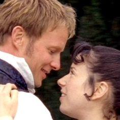 Rupert Penry-Jones (Captain Frederick Wentworth) & Sally Hawkins (Anne Elliot) - Persuasion directed by Adrian Shergold (TV Movie, 2007) #janeausten