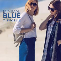 NEW IN - Minimal Blue by TIFFOSI #tiffosi #tiffosidenim #may #lookbook #newin #minimal #blue Jeans, Minimalism, Ray Bans, Sunglasses, Blue, Style, Fashion, Men, Woman