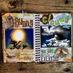 "Smashbook ""Sunny"" ""Cloudy"""