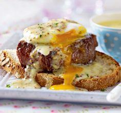 Unser beliebtes Rezept für Steak Egg Benedict mit Senf und mehr als 55.000 weitere kostenlose Rezepte auf LECKER.de.