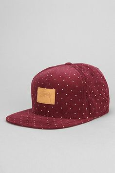 Stussy Polka Dot Corduroy Strap-Back Hat.. this would look good on you dear  :)