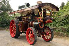 Vintage Locomotives | Vintage Auction Catalogue - 1907 Burrell Showman's Road Locomotive 8 ...